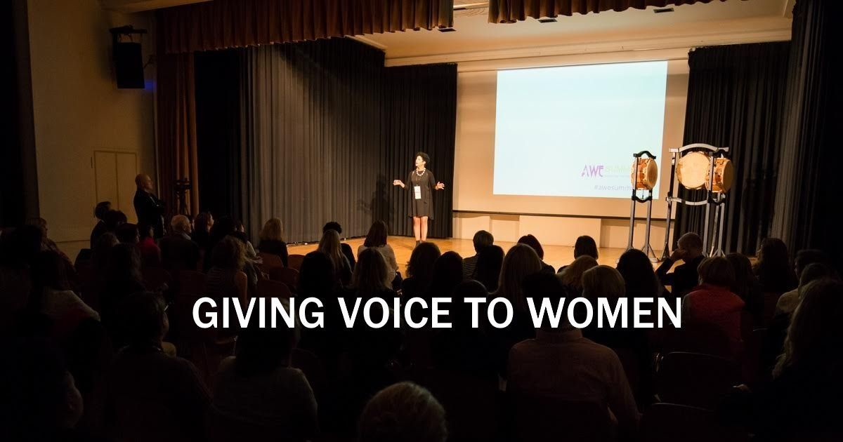 Giving Voice to Women